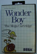 WONDER BOY THE MEGA CARTRIDGE SEGA MASTER SYSTEM SMS