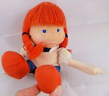 """Applause Lil Whimpers Sad Girl Doll Sits 5"""" 1982"""