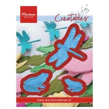 Marianne Design Creatables Cutting Dies - Tiny's  Frogs & Dragonfly LR0461