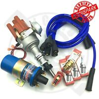 Ford Pinto Electronic Complete Stealth ignition kit Ballast ignition/ BLUE LEADS