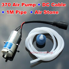 DC 5V~12V 6V Mini Small 370 Motor Air Pump Oxygen Pump Aquarium Water Fish Tank
