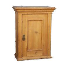 Antique Danish Pine Hanging Cabinet