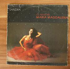 """Single 7"""" Vinyl Sandra - Maria Magdalena 1985"""