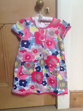 Boden Dress, 4-5y Summer Floral Cotton, Funky
