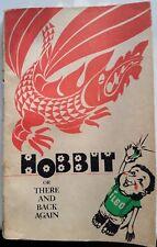 Vintage Book Jrr Tolkien Hobbit Old Children Lotr Collection Rare English 1982