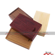 10 PCS 1GB Wooden USB Flash Thumb Stick Pendrive With Wood Box