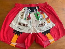 Vintage 1997 Looney Tunes Daffy Duck Bbq Apron Boxer Shorts Size Large (34-36)