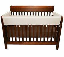 Soft Rail for Convertible Cribs Protects from Teething Marks Washable 3 Piece