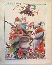 '82 Sugar Bowl Classic / New Orleans Print by Leo Meiersdorff