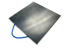 400x400x50 mm 14t Stützplatten Kranplatten Abstützplatten Unterlegplatte