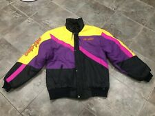 Vintage 90s Bombardier SkiDoo Racing Snowmobile Jacket Coat Mens Large