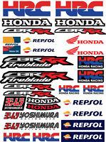 CBR 600RR Adesivi per moto stickers HRC 1000RR Fireblade Repsol Laminato /82