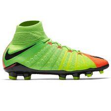 super popular fe191 7ba45 Youth Kids Boys Nike Jr Hypervenom Phantom 3 DF FG Soccer Shoes 5 Y 5y