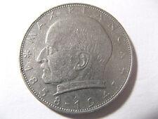 2 DM Deutsche Mark Deutschland Max Planck 1957 D Umlaufgeld Kursmünze