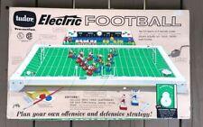 Vintage 1965 NFL Tudor 500 Electric Football Game Original Box Triple Threat