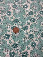 Antique Treasures 100% Cotton Fabric Quilting Paintbrush Studio Green Floral