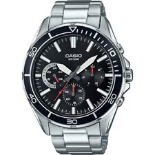 Casio MTD320D-1A Men's Stainless Steel Analog Sports Watch 100M Diver