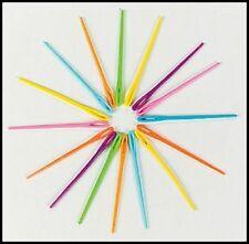 4 Plastic Lacing Needles Safe 4 Kids 4mm+ hole Abcraft