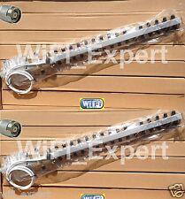 2 18dBi 20dBi Yagi WiFi Antenna RP-TNC Linksys WRT54G WRT54GL DD-WRT Tomato Pair