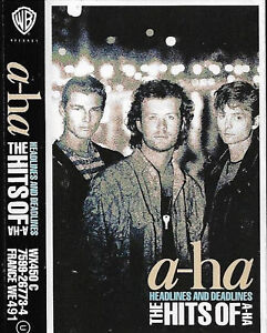 a-ha Headlines And Deadlines The Hits Of A-Ha CASSETTE ALBUM New Wave Synth-pop