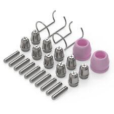 24 Pcs Plasma Consumables Kit For Plasma Cutter Ag 60 Sg 55 Torch 045 Nozzle