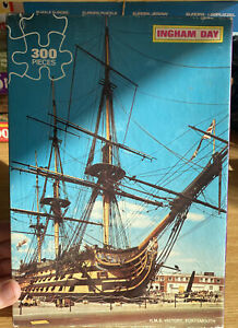 Vintage Ingham Day 300 Piece Jigsaw Puzzle Monarch HMS Victory Portsmouth