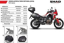 SHAD Maletas laterales, baul, soportes, bolsas KIT HONDA AFRICA TWIN CRF1000L 20