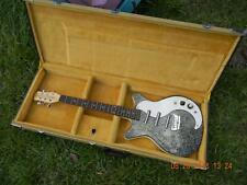 Danelectro Korean  Reissue DC-3 Electric Guitar,Dano Tweed Hardshell Case,Nice