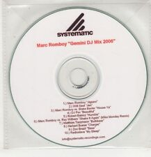 (GS747) Marc Romboy, Gemini DJ Mix 2006 - 10 track DJ CD