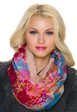 Écharpes et châles foulard rouge à motif Géométrique pour femme