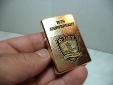 ZIPPO ACCENDINO LIGHTER D DAY NORMANDY 70 TH ANNIVERSARY GOLD NEW