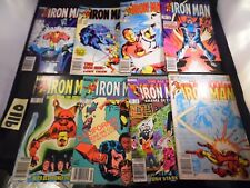 Iron Man Lot #166 178 184 185 186 197 198 and 199