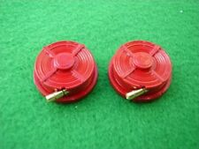 Laid Flat, rolled up Fire Hose Reel in 1/24th Scale.model boat fittings.