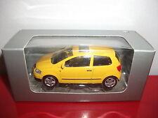 (23.3.15.1) VW Volkswagen FOX jaune voiture 3 inch inches Norev 1/54