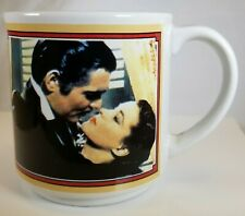 Gone with the Wind Coffee Mug Cup 50th Anniversary 1989 Turner Entertainment Vtg