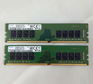 SAMSUNG 32GB (2 x 16GB) DDR4-2666 PC4-21300 288-Pin 1.2V Desktop PC Memory Set