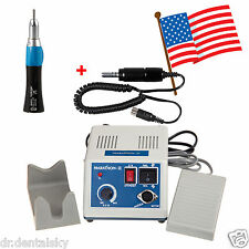 Dental Marathon Electric Micro Motor 35Krpm Polisher + Straight Handpiece MS-P