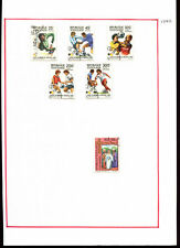 Togo 1982, Football Album Page Of Stamps #V1104