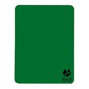Schiedsrichter Disziplinarkarte Grün