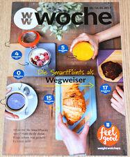 Weight Watchers Feel Good Semana 8.1 - 14.1 SmartPoints 2017 Folleto semanal NEU
