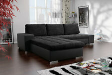 Couch VERONA 3 L Couchgarnitur Sofagarnitur Sofa Schlaffunktion Polsterecke