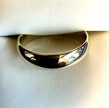 10KT GOLD WEDDING BAND 5MM SIZABLE 9 1/2 NEW REDUCED PRICE!!!