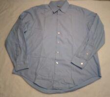 DKNY Men's Large LS Collared Polo Dress Shirt Spring/Summer Tee T-shirt Mens L
