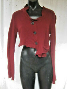 RUNDHOLZ, Germany, NWT, M, A Fabulous Cropped Design In 100% Cashmere. RRP $510