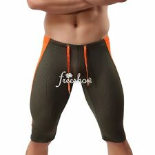 Men Sports Fitness Compression Base Layer Gym Tights Shorts Sport Outdoor Pants