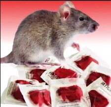 This Stuff Really Works Rodent Rat Bait Poison 15 Pack Pro Grade 2G New Formula
