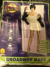 Halloween Costume Flapper Girl/The Great Gatsby White Fringe Dress Size S
