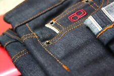 Slim Fit Jeans Premium Dry Raw 12oz Japanese selvedge Denim W36 - W32 x L34