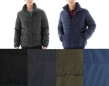 Levis Mens Puffer Jacket Coat Lightweight Nylon Solid sizes S M L XL XXL NEW