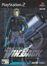OPERATION WINBACK for Playstation 2 PS2 - with box & manual - PAL
